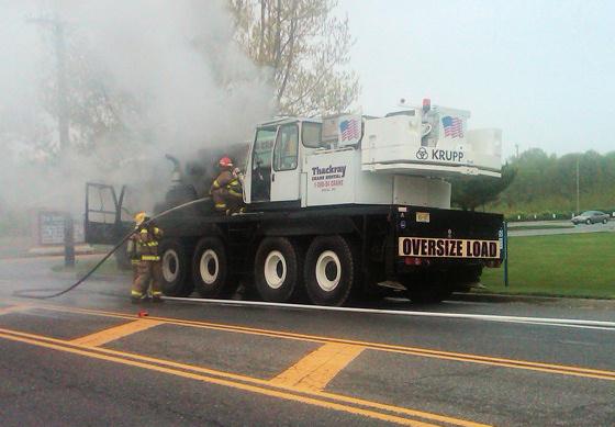 20100416 Crane Fire Overhaul